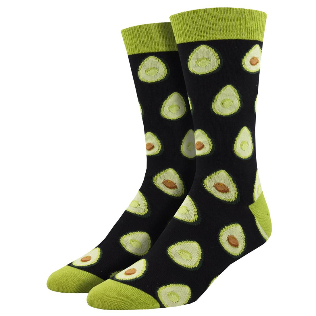Avocado Men's Crew Socks