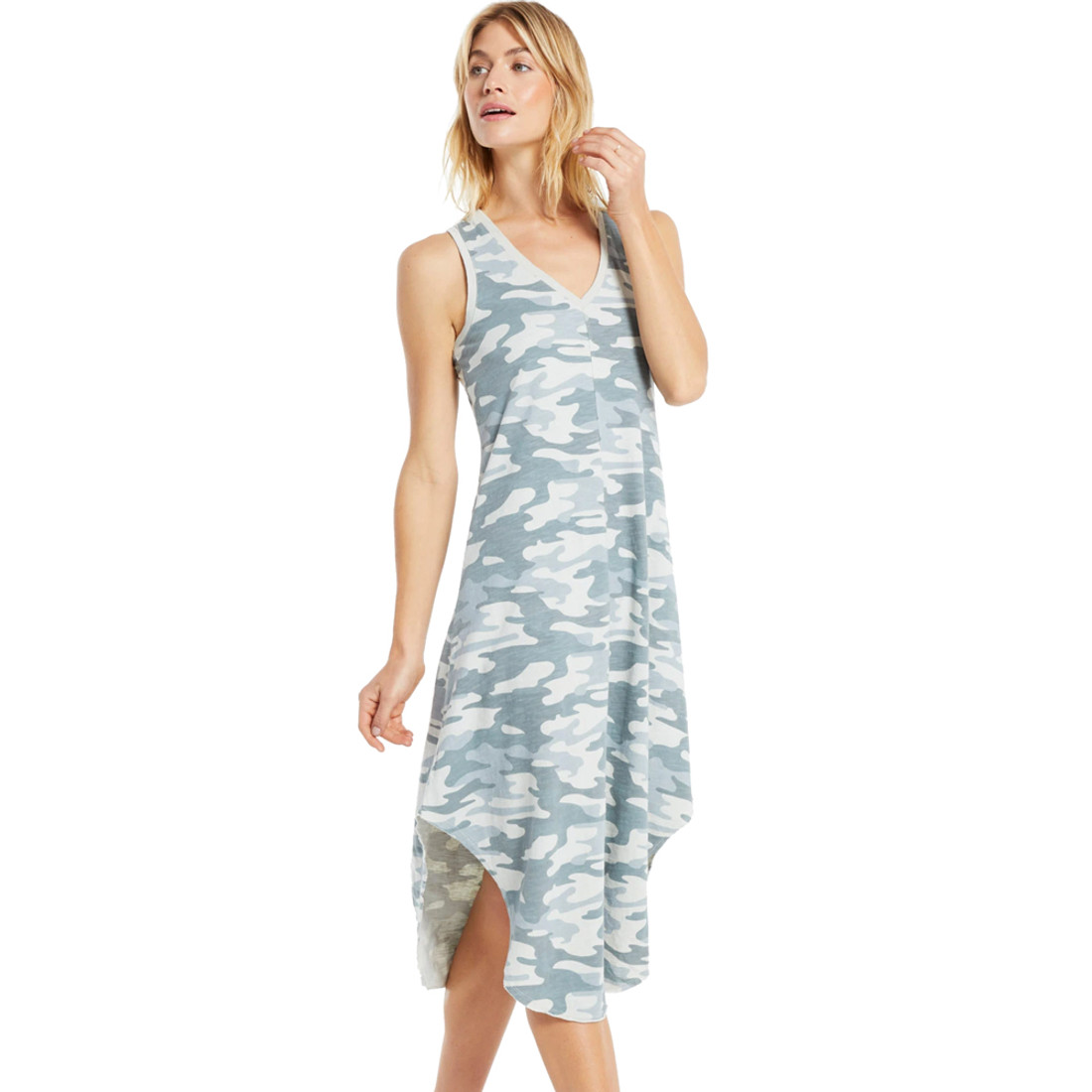 Z Supply Camo Reverie Midi Dress