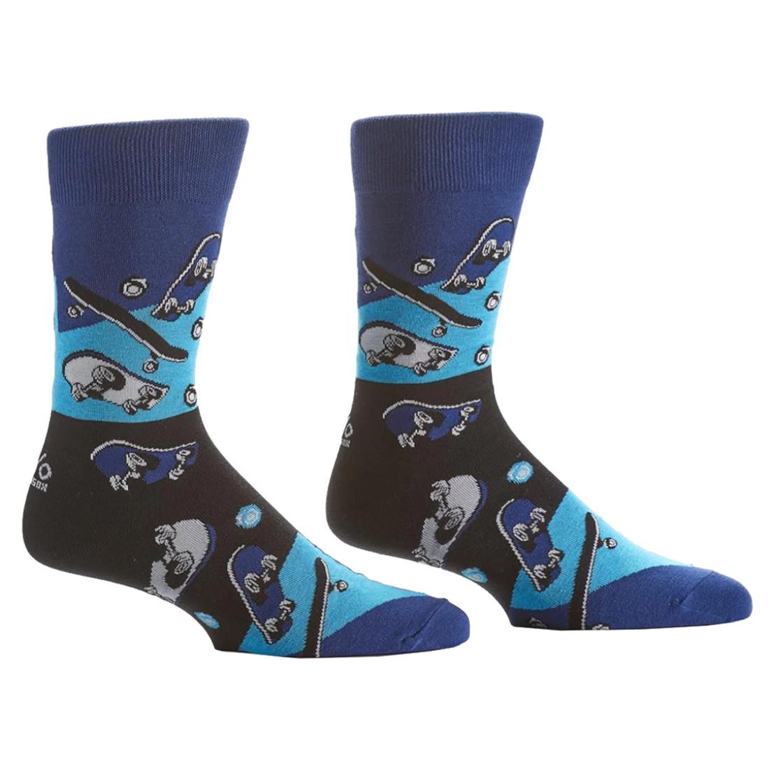 Skateboard Men's Crew Socks