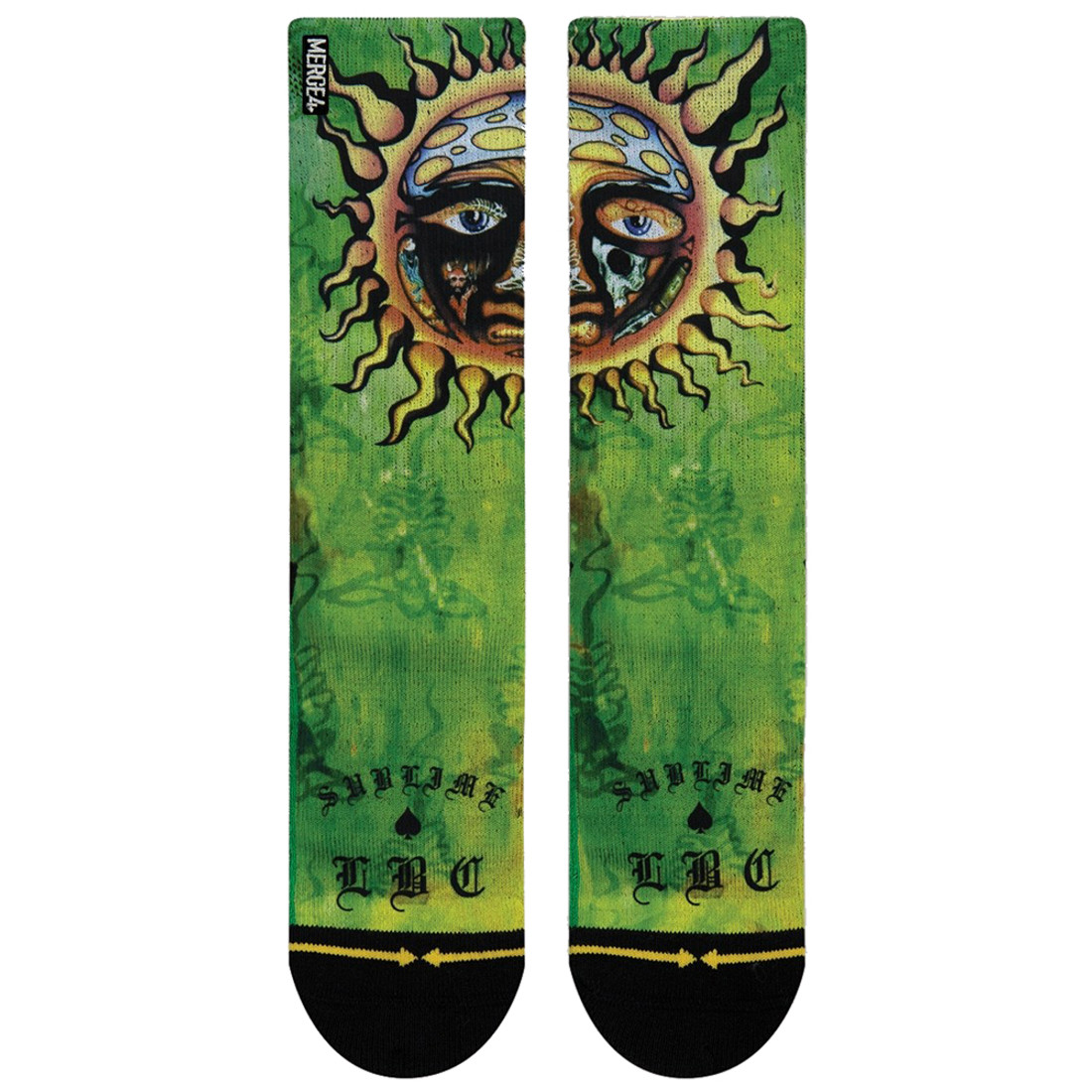 Merge4 Sublime Sun Crew Socks