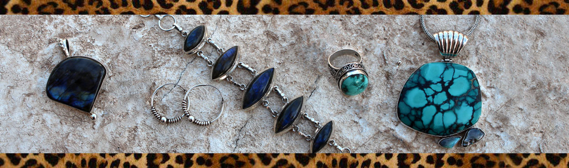 Sterling silver jewelry will add to any outfit.  Turquoise is great for summer.