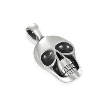 BICO Pacific Jewelry Pewter Pendant  MORTY Skull Tribal Surf Wear E254