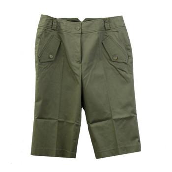 Green Appraisal Capri pants front side.