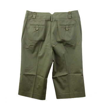 Green Appraisal Capri pants backside.