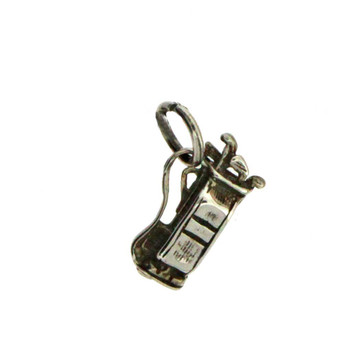 Golf club charm pendant.