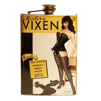 Bettie Page Modern Vixen Flask