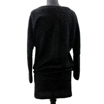 Black sparkle tunic dress.