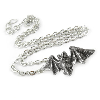 Bat Pendant chain view