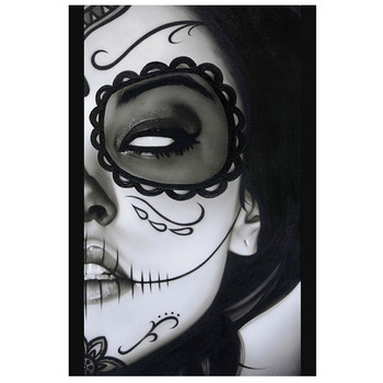 Sophia La Muerta  Art Print by Daniel Esparza