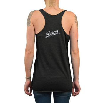 Women's Misfortune Unfinished Racer Back Tank