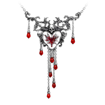 Alchemy Gothic P550 Bleeding Heart Necklace