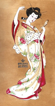 Traditional Geisha by Susana Alonso