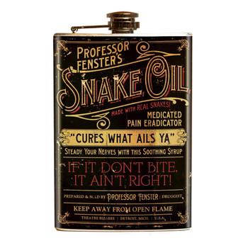 Theatre Bizarre Snake Oil Flask