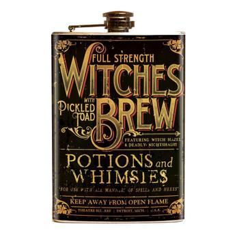 Theatre Bizarre Witches Brew Flask