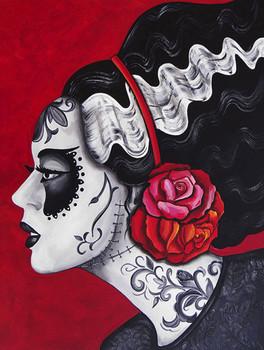 Melody Smith Franky's Bride - Canvas Giclee