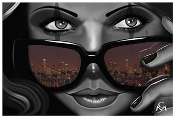 Charlie Medina Welcome to California - Art Print