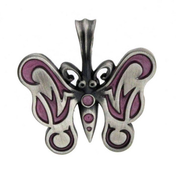 Bico Pacific Pewter Pendant BUTTERFLY Tribal Surf Wear B219PI