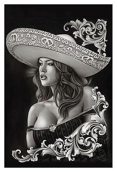 Ceeze Charra by Big Ceeze Fine Art Print