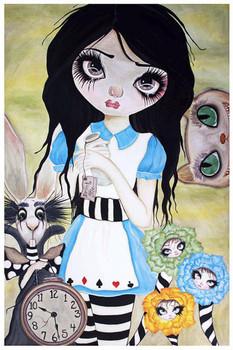 Have I Gone Mad by Dottie Gleason Fine Art Print