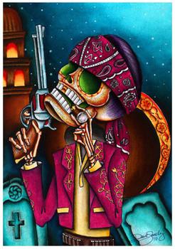 Clavo by Dave Sanchez Art Print