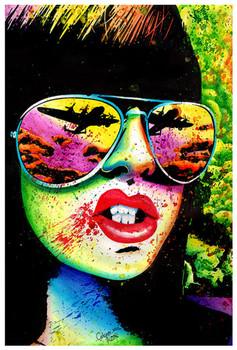Carissa Rose Here Comes The Bomb Fine Art Print