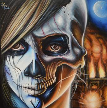 Veil by Randy Drako Canvas Giclee