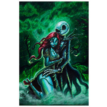 Joey Rotten Jack and Sally Art Print