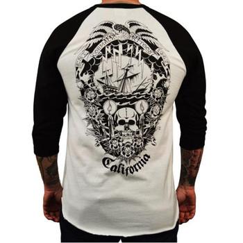 Men's Cormack Tattoos Baseball Shirt