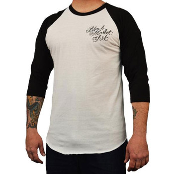 Men's Cormack Tattoos Baseball Shirt