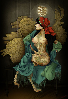 Tyson McAdoo Gypsy Canvas Giclee