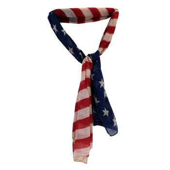 American flag scarf or sarong.
