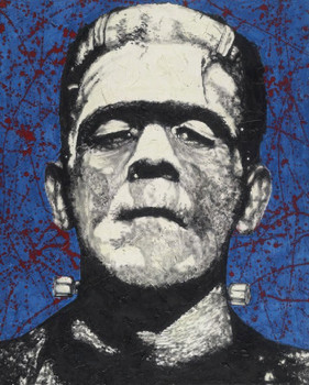 Frankenstein by Byron Canvas Giclee Art Print