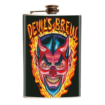 Evil Devil's Brew Flask