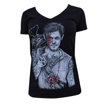 Womens Daryl V Neck Tee