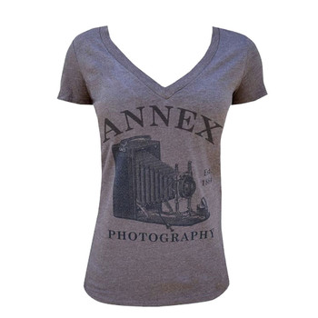 Ladies Photography V Neck