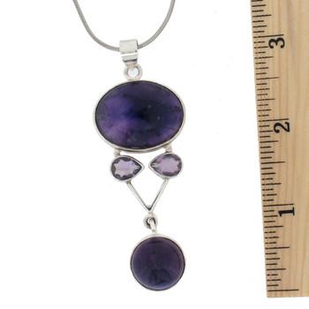 Large Amethyst pendant.