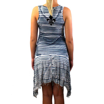 Vocal apparel women't striped tunic backside.