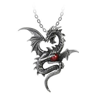 Alchemy Gothic P756 Aethera Draconem Dragon Pendant