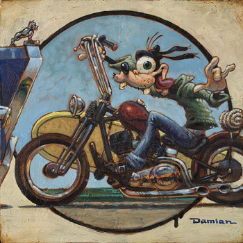 Damian Fulton In A Second Canvas Giclee