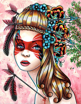 Carissa Rose Traitors Canvas Giclee