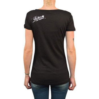 Womens Mistress of Evil Scoop Neck Tee back view