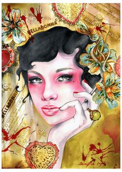 Cambria Belladonna Fine Art Print