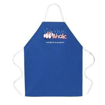 Garlicaholic apron.