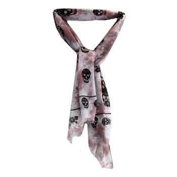 Skull scarf.