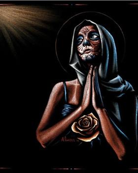 Marco Almera Prayer Fine Art Print