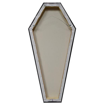 Coffin Canvas Giclee Back