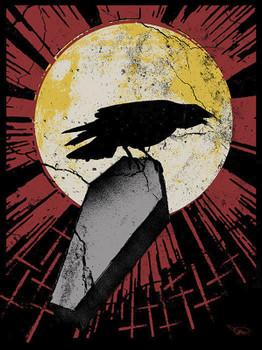 Ian McNiel Canvas Giclee - Blackened