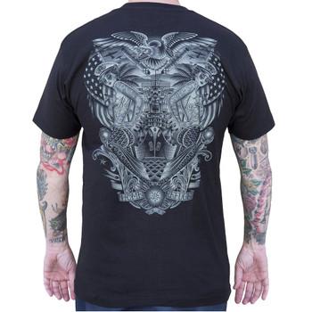 Refuge by Tyler Bredeweg Men's Tattoo Art Tee Shirt