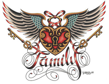 Tyler Bredeweg - Family - Canvas Giclee