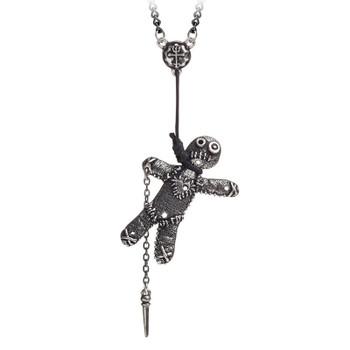 Alchemy Gothic - P769 - Voodoo Doll Pendant